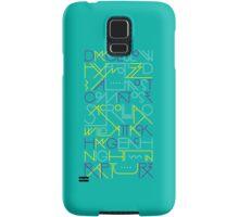 Rapture - Blue Samsung Galaxy Case/Skin