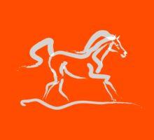 Cool t-shirt - horse - Runner Kids Tee