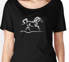 Cool t-shirt - horse - Runner Women's Relaxed Fit T-Shirt