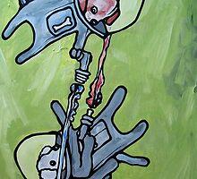 futuristic dog fight!  by starheadboy