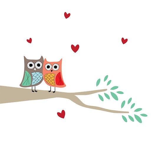 Love Owls by Angela Thompson