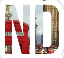London Town Sticker