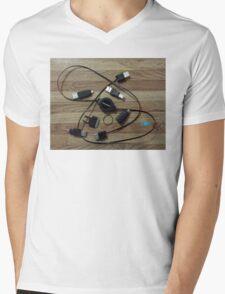 Tangled Web Mens V-Neck T-Shirt