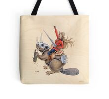 On Guard for Thee (Print) Tote Bag