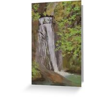 Wolf Creek Falls Greeting Card