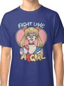 Sailor Moon- Fight Like a Girl Classic T-Shirt