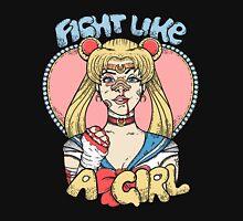 Sailor Moon- Fight Like a Girl Unisex T-Shirt