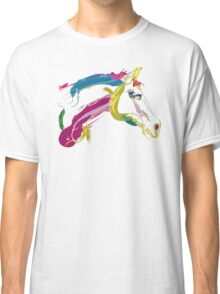 Cool t-shirt, horse Lovely in colours Classic T-Shirt