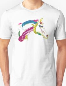 Cool t-shirt, horse Lovely in colours Unisex T-Shirt