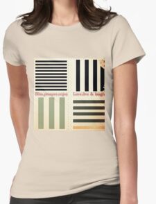 vintage,preppy,stripes,pattern,rustic,collage,girly,trendy,chic, T-Shirt