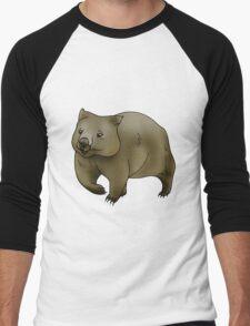 Wombat Men's Baseball ¾ T-Shirt