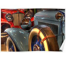 1931 Cord 1932 Auburn Head To Head Poster