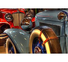 1931 Cord 1932 Auburn Head To Head Photographic Print