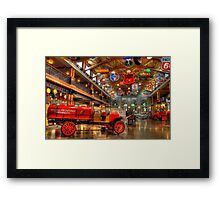 Automobile Paradise Framed Print