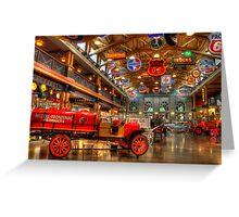 Automobile Paradise Greeting Card