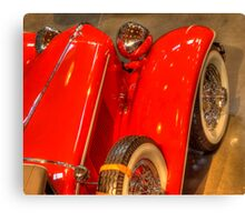 1931 Cord From Above Canvas Print