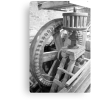 Inside Grant's Old Mill Metal Print