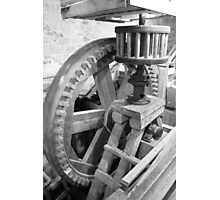 Inside Grant's Old Mill Photographic Print