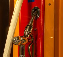 Vintage Gasoline Pump Nozzle by Bob Christopher