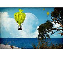 Yellow Fish_Balloons Photographic Print