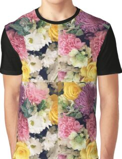 Floral Pastels Graphic T-Shirt