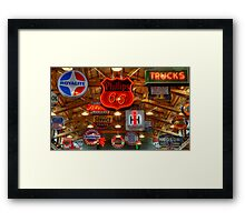 Signs Signs Signs Framed Print