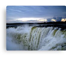 Iguazu Sunset Canvas Print