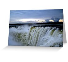 Iguazu Sunset Greeting Card