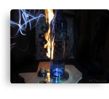 Flaming Tequila Canvas Print