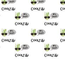 Cool rabi, kohlrabi, bad joke wallpaper Sticker