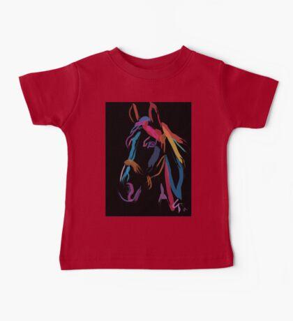 Horse - Colour me beautiful Baby Tee