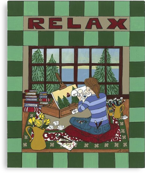 RELAX by Lynn Wright