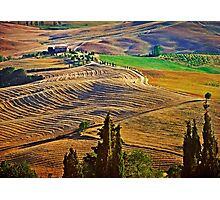 Val d' Orcia Photographic Print