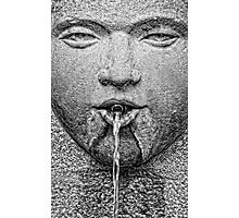 Water from the mouth ... Photographic Print