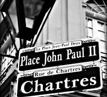 New Orleans Street Sign by StudioBlack