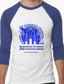 Atlantis- Blue Men's Baseball ¾ T-Shirt
