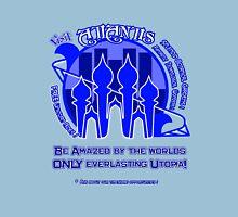 Atlantis- Blue Unisex T-Shirt