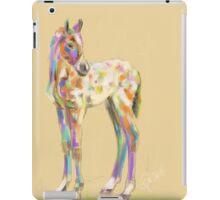 Foal paint iPad Case/Skin