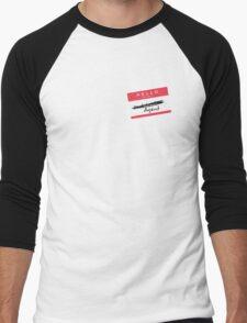 Hi, my name is... Agent? (Red) Men's Baseball ¾ T-Shirt