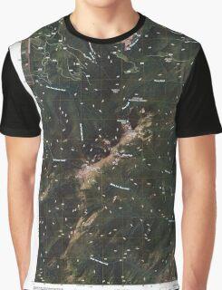 USGS Topo Map Washington State WA Abercrombie Mountain 20110428 TM Graphic T-Shirt