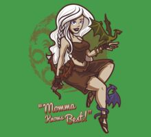 Dragon Momma Pin Up Kids Clothes