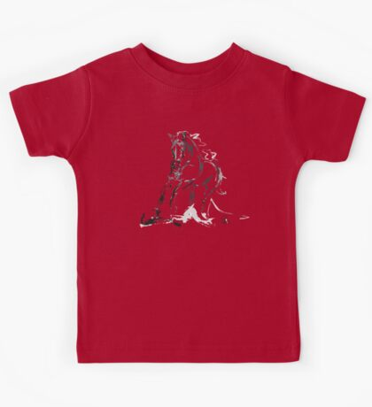 Cool T-shirt  Horse Andalusian Angel Kids Tee