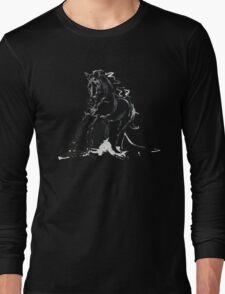Cool T-shirt  Horse Andalusian Angel Long Sleeve T-Shirt