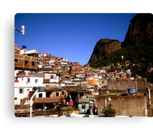 Fantastic Favela Canvas Print
