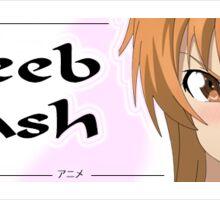 Weeb Trash Sticker Slap Sticker