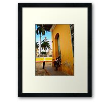 A Moment of Contemplation  Framed Print