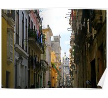 Colorful Alleys  Poster