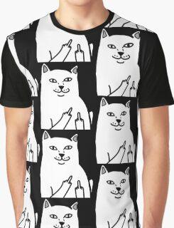FINGERKITTY Graphic T-Shirt