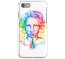 Smoke Feathers Everyday iPhone Case/Skin