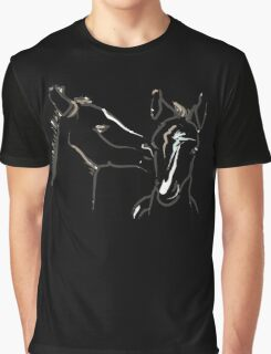 Cute T-shirt - horse - together 6 Graphic T-Shirt